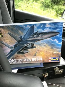 Revell F-15E Strike Eagle U.S. Fighter Jet 1/48 Scale Model