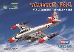 Hobby Boss F-84G Thunderjet Easy Assembly Kit Airplane Model