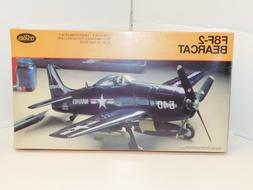 F8F-2 Bearcat Sealed Plastic Model Kit Testors 1/48 Scale