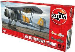Airfix Fairey Swordfish Mk.I 1:72 Scale Plastic Model Plane