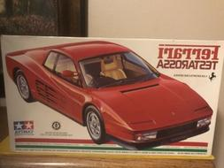 Ferrari Testarossa 1/24 Tamiya Sports Car #59 Model Kit In B