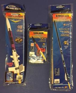 Estes Fletcher, Mini Max, & Photon Probe Flying Model Rocket