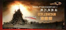 FlyHawk 1:350 Richelieu French Battleship Super Detail for T