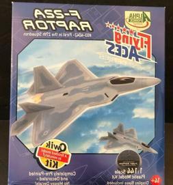 Flying Aces F-22a Raptor 1:144 Scale Qwik Kit Model Kit Alph