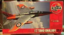 Airfix Folland Gnat T.1 Airplane Model Kit 1/72 Scale Parts