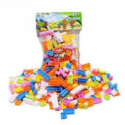 <font><b>144</b></font> Pcs Plastic Building Blocks Bricks C