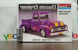 Ford 1955 F-100 Street Rod Pickup Truck 1:24 scale Revell /