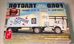 AMT Ford C600 Hostess Truck with Trailer 1:25 scale model ca