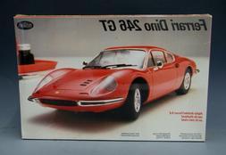 Testors Fujimi Ferrari Dino 246 GT Plastic Model Kit 1/24 Sc