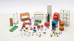 Garage Kit Set for 1/18 Scale Models by Autoart 49110