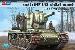Hobby Boss German Pz.Kpfw KV-2 754  Tank Vehicle Model Build