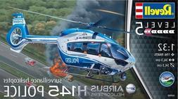 Revell Germany 1:32 H145 Police Helicopter Plastic Model Kit
