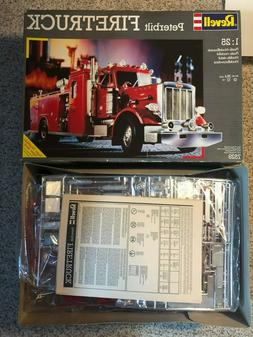 Revell Germany Peterbilt 359 Fire Engine/Truck 1/25 Open/Sea
