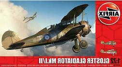 Airfix Gloster Gladiator Mk.I/Mk.II 1:72 Scale Plastic Model