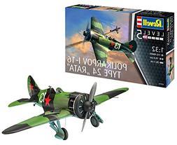 Revell Gmbh 03914 Polikarpov I-16 Rata Model Kit, 1:32 Scale