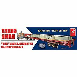 AMT Great Dane Extendable Flat Bed Trailer 1:25 Scale Model