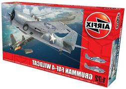 Airfix Grumman F4F-4 Wildcat 1:72 Scale Plastic Model Airpla