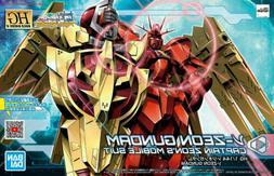 Gundam 1/144 HGBD:R #05 Build Divers Re:Rise RX-93N04 Nu-Zeo