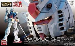 Gundam 1/144 RG #01 RX-78-2 Gundam Bandai 163280 Real Grade