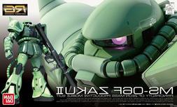 Gundam 1/144 RG #04 MS-06F Zaku II Green Model Kit Bandai Re