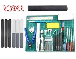 BXQINLENX Professional 33 PCS Gundam Model Tools Kit Modeler