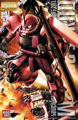 Bandai Hobby Gundam MS-06S Char's Zaku II Ver 2.0 MG 1/100 M