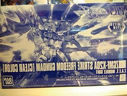 Gunpla EXPO limited HGCE 1/144 Strike Freedom Gundam clear c