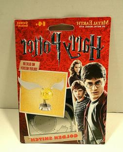 Harry Potter Metal Earth Golden Snitch 3D Metal Model Kit