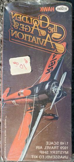 Testors Hawk Golden Age of Aviation 1929 Travel Air Mystery