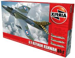 Airfix Hawker Hunter F.6 1:48 Scale Plastic Model Airplane K
