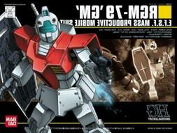 Bandai HG 1/144 Scale RGM-79 GM model kit HGUC