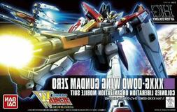 Bandai Hobby HGAC Wing Gundam Zero Model Kit