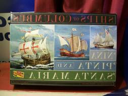 Lindberg HL223 Ships of Columbus The Nina, The Pinta, and Th