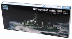 Trumpeter HMS Eskimo WWII British Tribal Class Destroyer Shi
