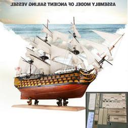 HMS Victory Wooden Sailing Boat Model DIY Kit Ship Assembly