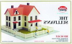 HO 1:87 Scale THE SULLIVAN'S HOUSE Kit Model Power New in Se