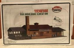 MODEL POWER HO SCALE BREWERY BUILDING KIT #451