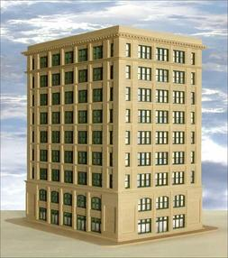 Custom Model Railroads HO-Scale Building Kit: Greene Street
