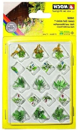 Noch 14056 Assorted Plants #4 17/ H0 Scale  Model Kit