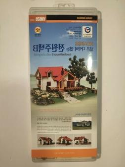 Young Modeler Ho-Scale Garden House B With Large Loft Model