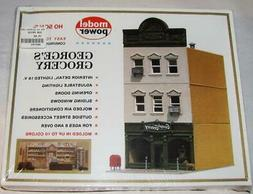 Model Power HO Scale Georges Grocery Building -  Model Kit -