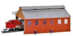 HO Scale LOCOMOTIVE MAINTENANCE BUILDING Kit Model Power New