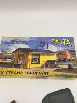 Atlas HO Scale Model Railroad Building Kit Trackside Shanty/