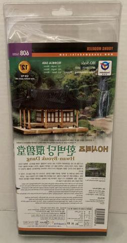 Young Modeler HO Scale Model Wood Kit Hwan Byouk Dang Buildi