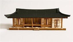 Young Modeler HO Series Wooden Model Kit_Korea Traditional T