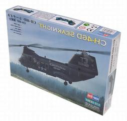 Hobby Boss American CH-46 Sea Knight Airplane Model Building