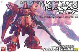 Bandai Hobby Gundam MSN-04 Sazabi Version Ver. Ka MG 1/100 M