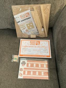 Home Depot Kids Workshop Football Toss Game Kit 71074 NEW SE