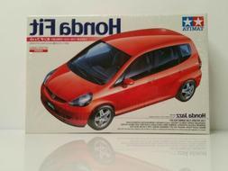 Tamiya Honda Fit Jazz Model Kit 1/24 GD 2002 Red Japan