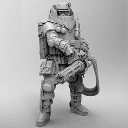 HOT 1:24 Scale Mechanical warrior Figure Model unassembled G
